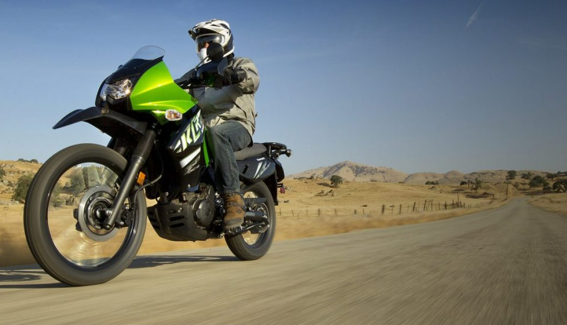 The history of the Kawasaki KLR 650 dual sport motorcycle