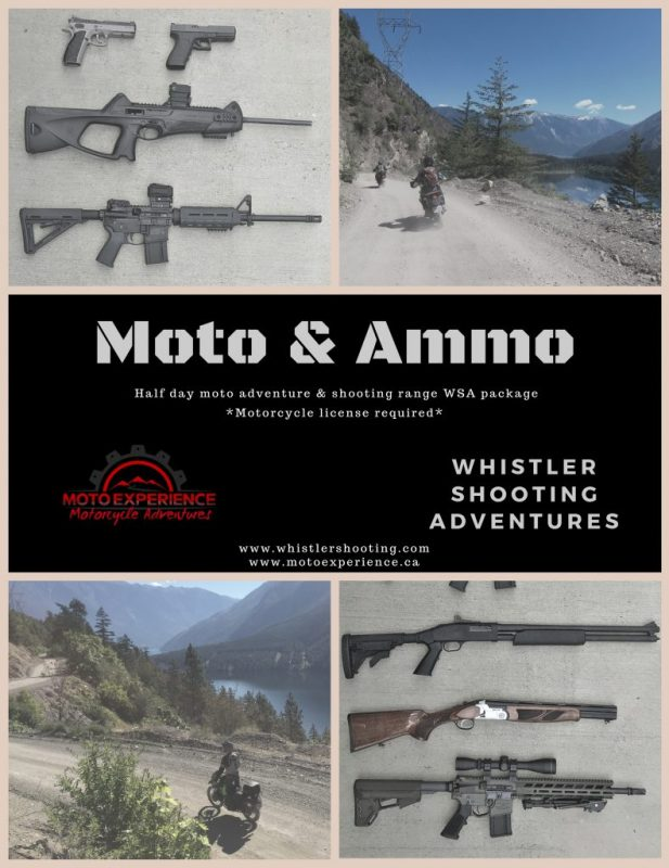 Whistler Shooting and Moto Experience Package