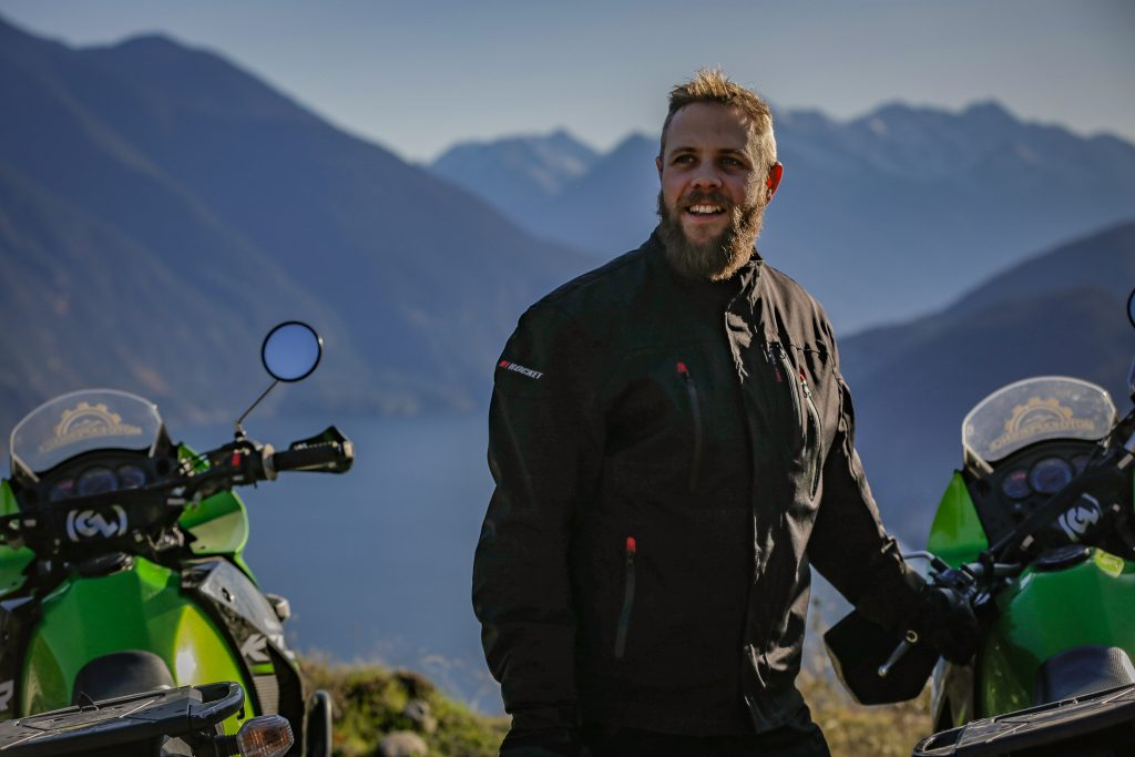 A photo of Pemberton Motorcycle guide - Ben Harris