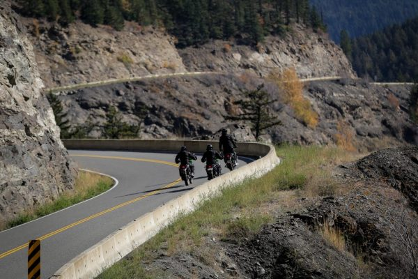 Duffey lake road kawasaki motorbikes